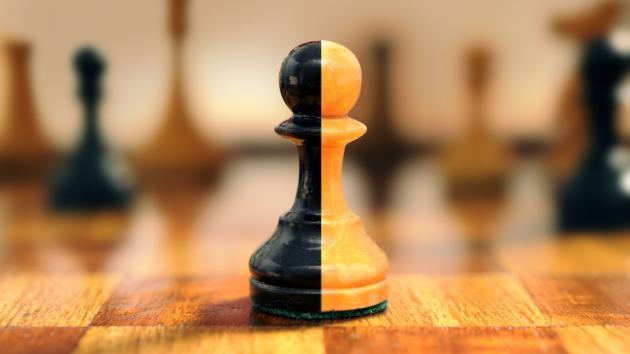 niños peón ajedrez